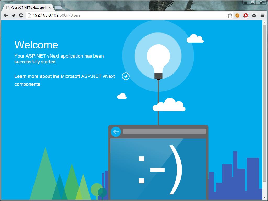 Aplikacja ASP.NET vNext na Raspberry Pi (Kestrel)